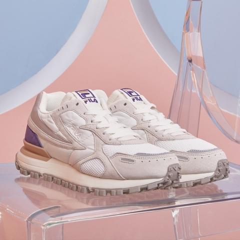 FILA ZAGATO 復古運動鞋-紫 4-C124V-110