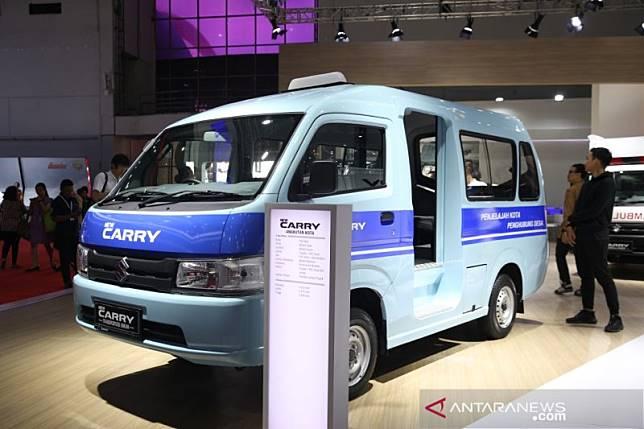 New Carry Pick Up jadi ambulan hingga angkot