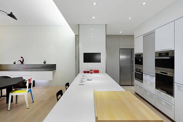 廚房與吧臺區設計