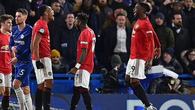 Manchester United Tekuk Chelsea di Stamford Bridge