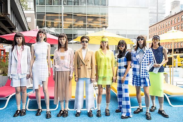 # 針織實驗室:紐約與中國針織品牌 PH5 2020SS