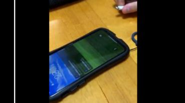 蘋果手機充電出現WinXP音樂 連桌面都是藍天白雲