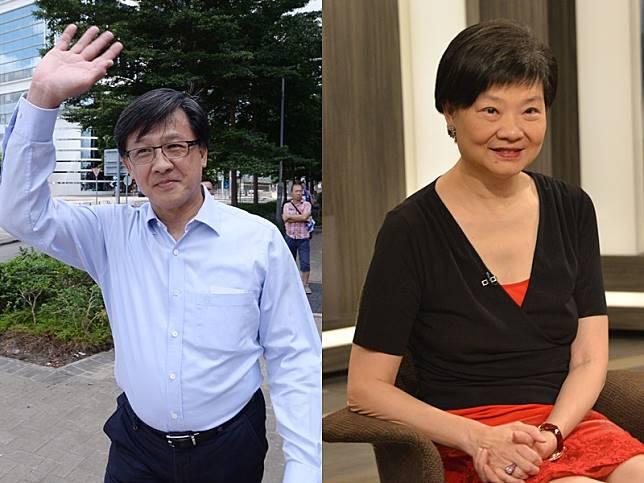 余若薇向香港律師會執業操守組投訴何君堯。資料圖片