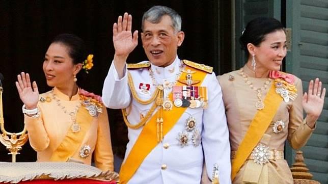 Yang Mulia Raja Maha Vajiralongkorn bergelar Raja Rama X [Shutterstock].