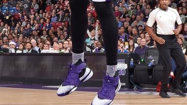 選手實著 / DeMarcus Cousins 著用 Nike Zoom Huarache 64