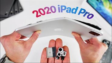 iPad Pro 2020 國外YouTuber 實測,鋁金屬材質機身相當容易彎曲