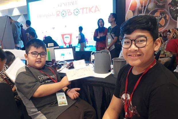 Terinspirasi Tanaman Layu, Peserta Olimpiade Robotika Buat Robot Penyiram Pohon
