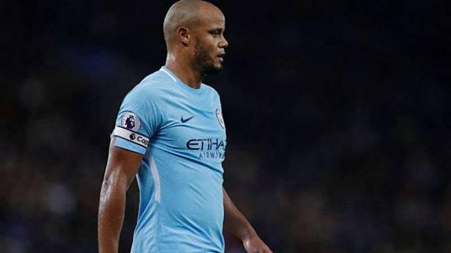 Kapten Manchester City, Vincent Kompany.