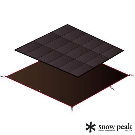 ◆Snow Peak SDE-001 Amenity Dome 五人帳蓬專用。 ◆營帳內的泡棉墊及底下的地布。 ◆SET-021背面布料為聚酯纖維材質。