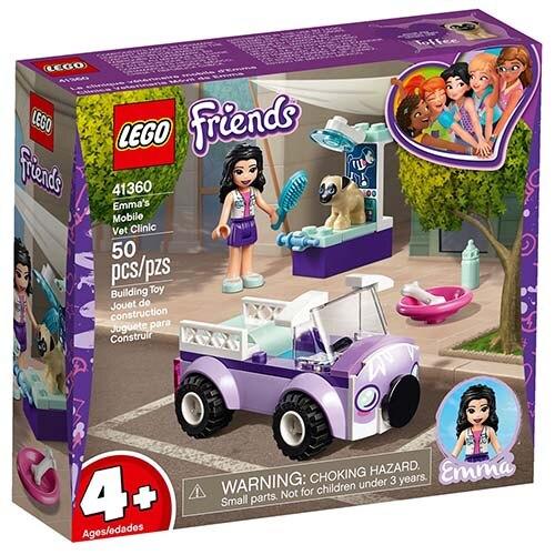 樂高LEGO 41360 Friends 姊妹淘系列 - 艾瑪的動物醫療車