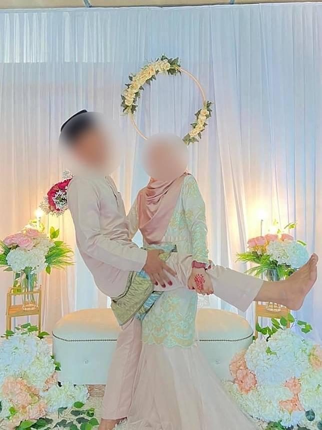 Foto Pernikahan Sahabat/Facebook