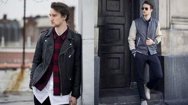 時尚部落客Marcel Floruss 冬季街頭的無敵外套穿搭