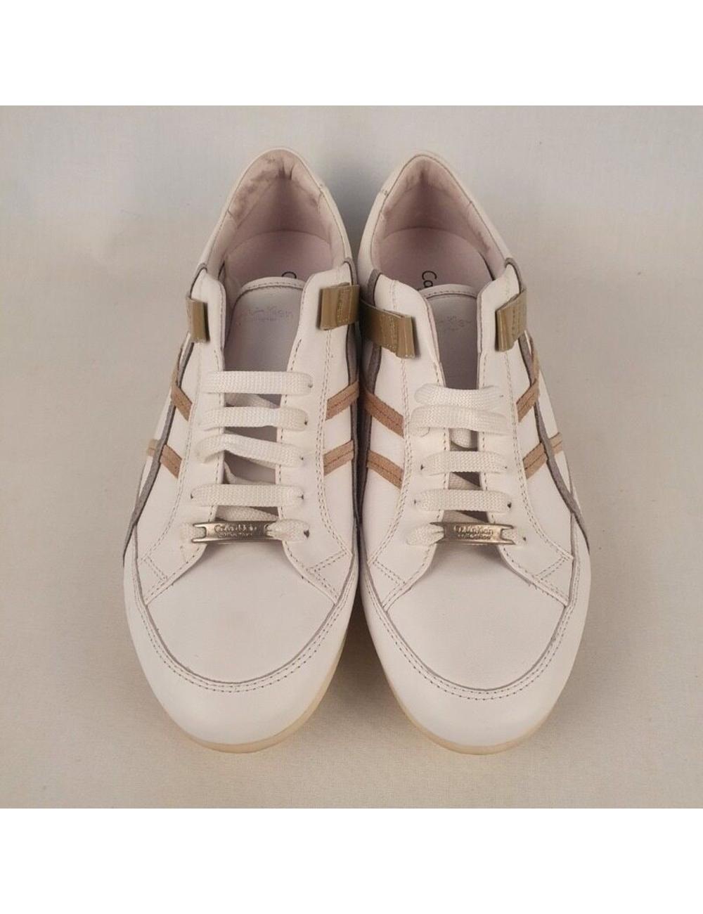 CALVIN KLEIN白色皮革人低幫運動鞋4586 類別:男士>鞋>運動鞋>低幫運動鞋 年份:假 顏色代碼(RGB代碼):#917e70 大小信息:260사이즈보유중입니다。 性別:男人 材質:皮革