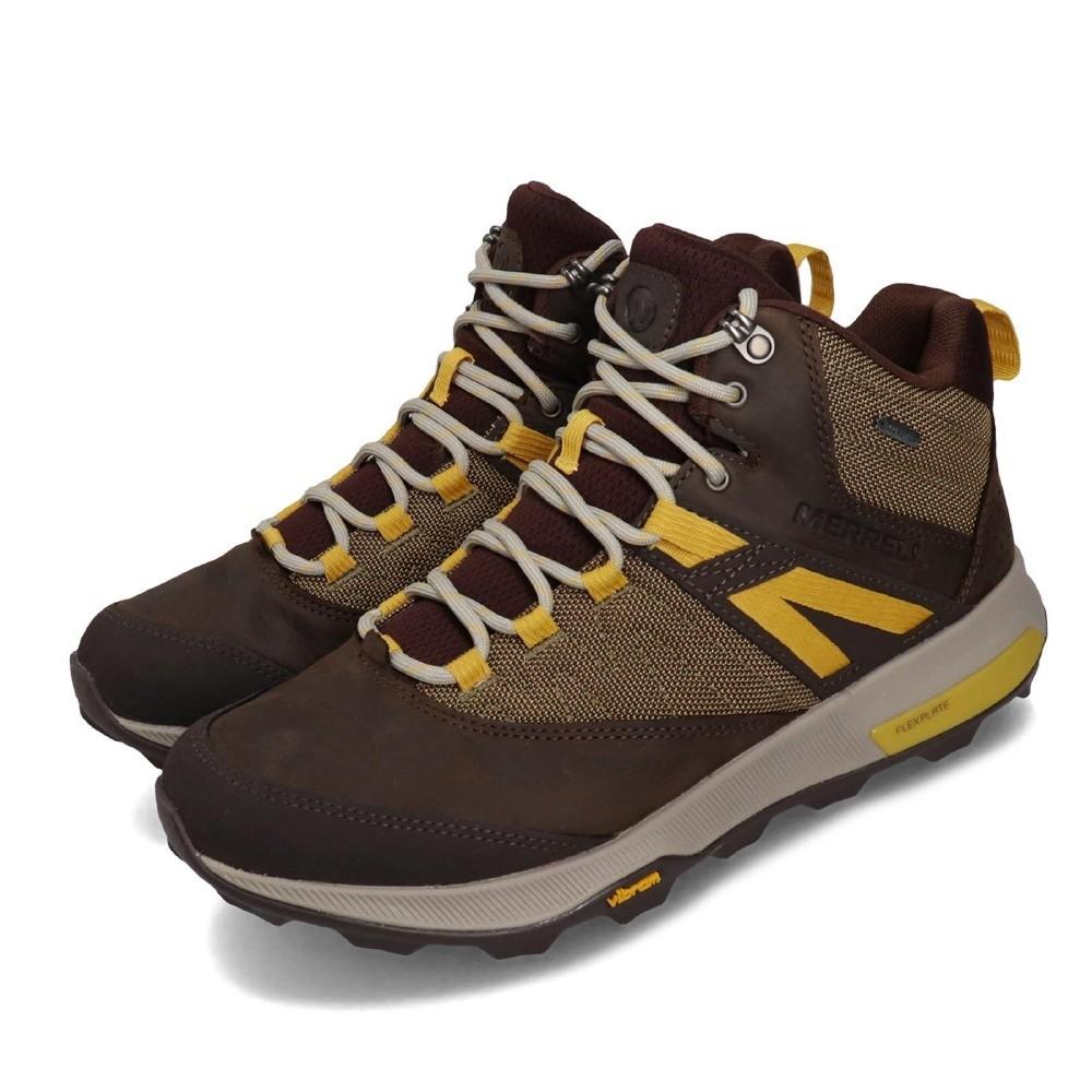 * GORE-TEX襪套式防水結構- 防水透氣保持乾爽。* 防水珠面皮網布鞋面。* 透氣網布內裡。* 風箱式鞋舌-防止碎石沙子進入。* 橡膠鞋頭保護片。* FRESH抗菌防臭功能,讓運動的腳更清爽舒適