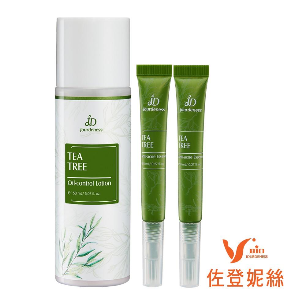 佐登妮絲 茶樹控油化妝水150ml+茶樹K痘精華8mlX2