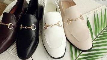 D+AF OL必備!! 上質品味2WAY紳士便鞋