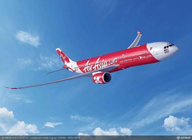 Air Asia X A330-900 aircraft