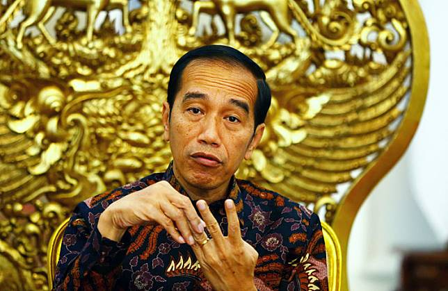 """Kang Herman, who has regularly tended the President's hair since he was the governor of Jakarta, offered the undercut hairstyle to the President. """"It's a style in which the hair on each side of the head is shorter, with the top part slicked back."""""""