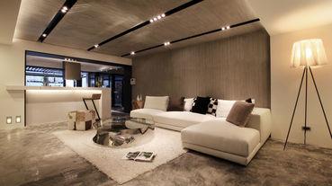 天地壁大改造 兼具美觀與實用的客廳設計