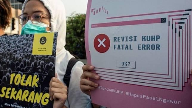 DPR berhenti mempublikasikan hasil pembahasan RKUHP ke publik sejak 30 Mei 2018. - ANTARA