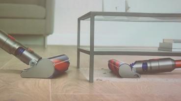 Dyson 無線吸塵器 V8 Slim Fluffy+發表!小改款吸力不減、吸頭升級、售價 16,900 元