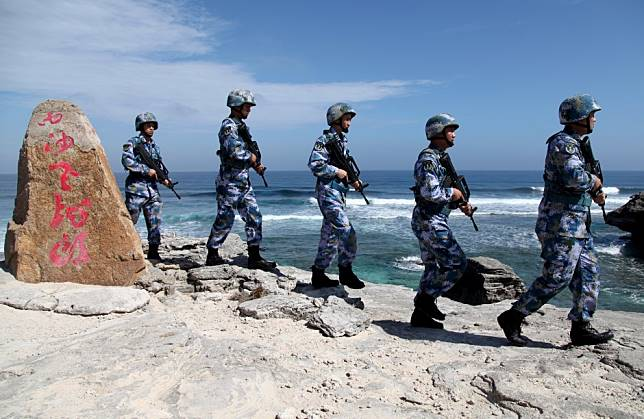 Beijing hits back at US Senate's plan for South China Sea sanctions saying it 'violates norms of international law'