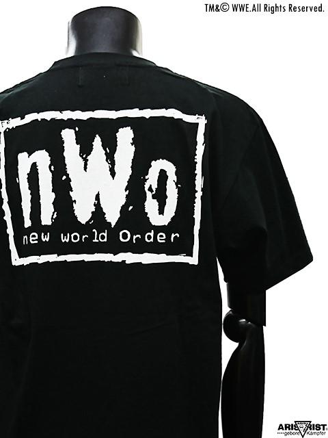 AT×WWE nWoバックプリントTシャツ Type1