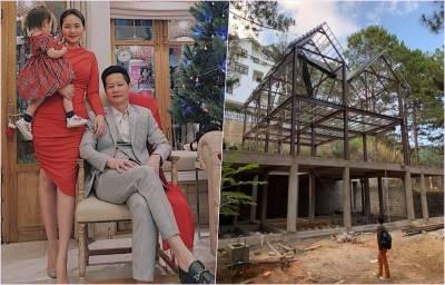 Ai sướng như Phan Như Thảo: Sở hữu 2 căn biệt thự và tiếp tục được chồng đại gia xây thêm cái thứ 3