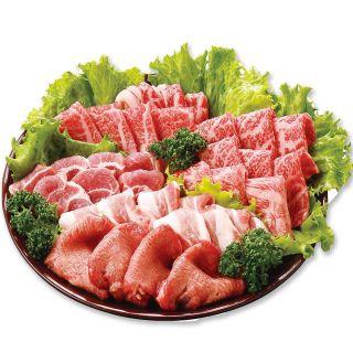 (アメリカ産・国内産)和牛入フジ焼肉セット