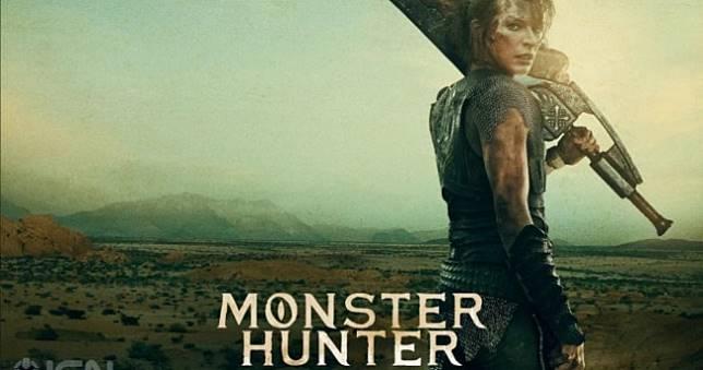 《魔物獵人》真人電影宣傳海報曝光,蜜拉手持骨製大劍帥炸