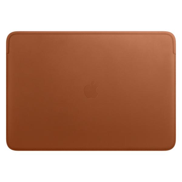皮革護套,適用於 16 吋 MacBook Pro – 馬鞍棕色 - Apple