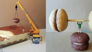 義大利糕點師傅的小創意,讓糕點不只好吃又好看喔!