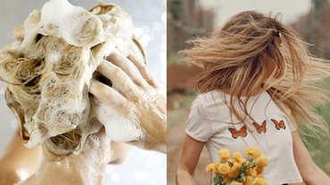 髮量少、細軟髮越洗掉越多?洗髮方式也有分髮質,「先潤髮再洗髮」還能讓髮量Level Up!