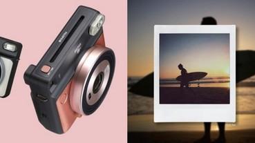 「拍立得」相機也要潮!Fujifilm 推出的正方形 + 玫瑰金 instax SQUARE SQ10 就是答案