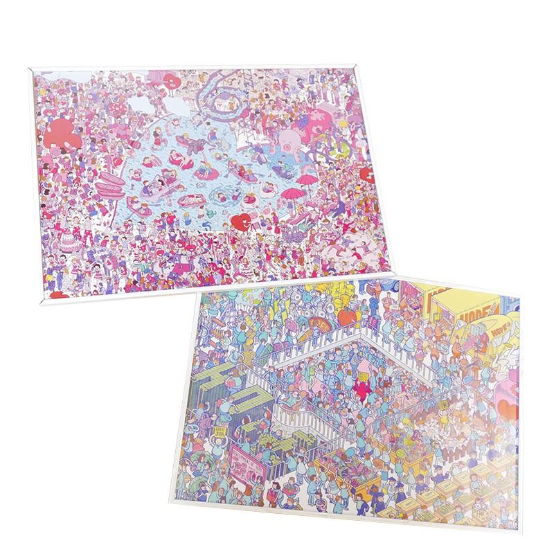 ▶︎為設計師李翰的作品 ▶︎有兩款:HOPE / LOVE ▶︎台灣文博會熱銷商品 【李翰】 李翰為台灣的插畫家, 創作領域涵蓋插畫、平面設計,同時也舉辦各種有趣的活動與計畫。 紅極一時的「舉牌小人」