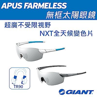 採用依視路專業光學鏡片 NXT全天候變色片是用不同光源情境 高彈性耐衝擊TR90鏡框 超廣不受限視野尤其適合低騎姿