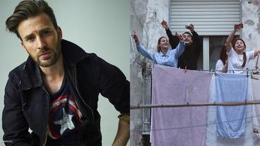 比武漢還扯!克里斯伊凡驚「義大利人封城還在陽台開趴」,網友貼出各種真實爆笑影片!