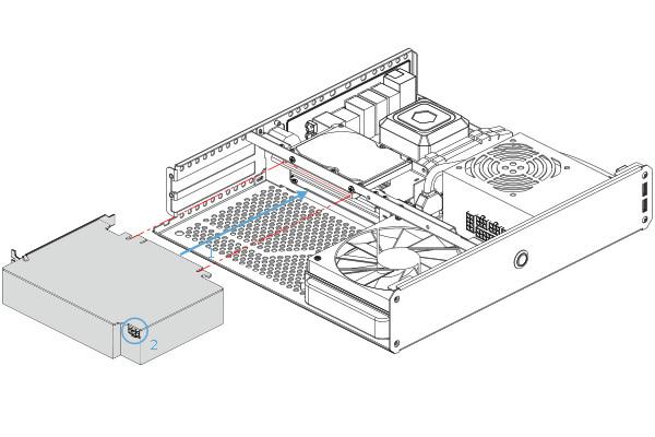 Sentry 2.0迷你機殼,7公升體積卻能容納30.5公分顯示卡
