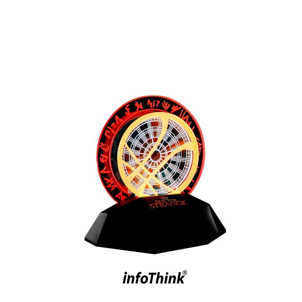 InfoThink 奇異博士3D立體光燈/情境燈(可同步充手機)