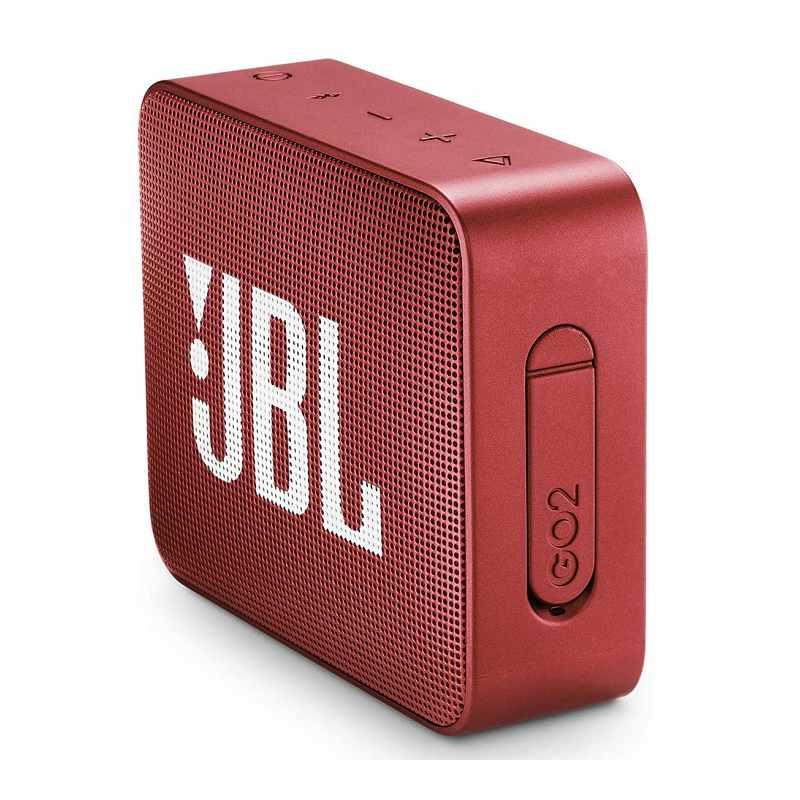 JBL GO2-防水超便攜式藍牙揚聲器-紅色 [2美國直購]