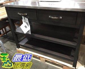 [COSCO代購] C2000281 UNIVERSAL BROADMOORE 廚房中島置物櫃 尺寸約123X62X91公分