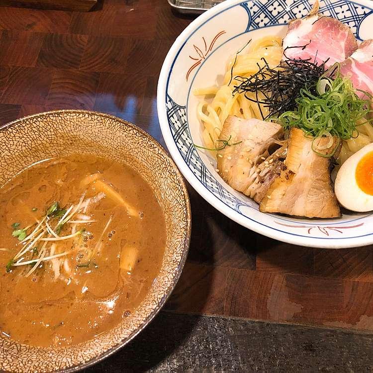 新宿区周辺で多くのユーザーに人気が高いつけ麺麺や 庄のの特製つけめんの写真
