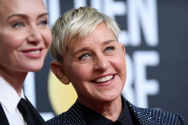 Komedian Ellen DeGeneres