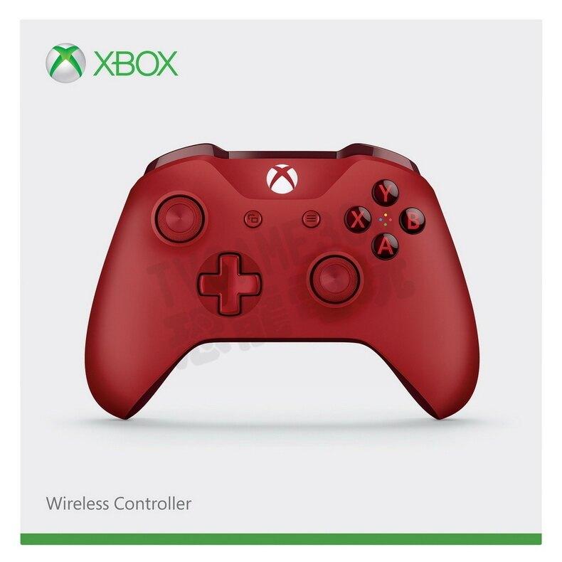 微軟 XBOX ONE S 原廠藍牙無線控制器 無線 手把 3.5mm耳機孔 PC XBOXONE 紅色 公司貨 台中。人氣店家恐龍電玩 恐龍維修中心的XBOXONE、XBOXONE 周邊有最棒的商品