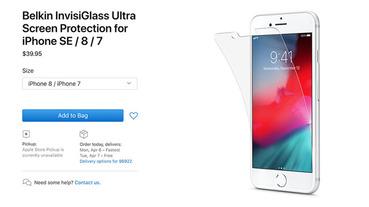 傳新iPhone SE 將上市,且不小心被 Belkin 保貼爆料螢幕尺吋