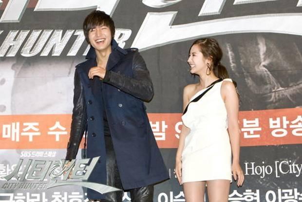 Lee Min Ho dan Park Min Young baru mengembangkan perasaan satu sama lain empat tahun kemudian saat keduanya membintangi serial City Hunter