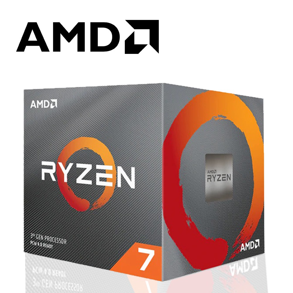 CPU核心數:8執行緒數:16基本時脈:3.6GHz最大超頻時脈:4.4GHz總計 L2 快取:4MB總計 L3 快取:32MB已解除鎖定:是CMOS:TSMC 7nm FinFET封裝:AM4散熱解