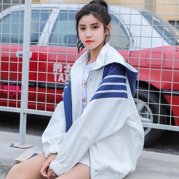 棒球服*女生外套*薄外套*秋冬外套