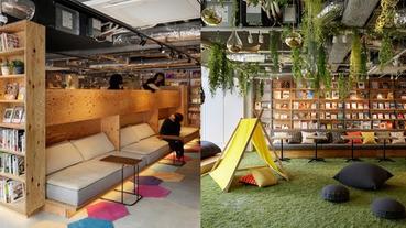 日本蔦屋推出「書店公寓」,午休時間好想在那片草皮打滾啊~