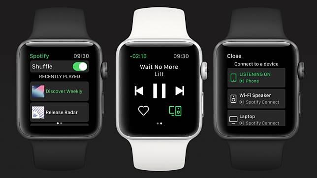Spotify ออกแอพฯ สำหรับ Apple Watch แล้ว